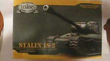 Stalin IS-2 LE Tank Model Kit PN103524 135 Scale & Display Case By Testors  md77