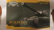 Stalin IS-2 LE Tank Model Kit PN103524 135 Scale & Display Case By Testors  md77