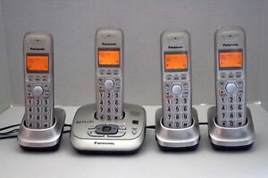 Panasonic-KX-TG4021 Digital Cordless Phone Answering System Dect-6.0