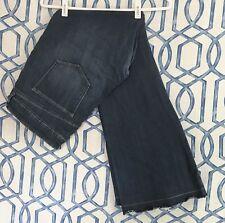 Old Navy Womens Sz 14 The Diva Jeans Low Rise Flare Leg Dark Wash Stretch Denim