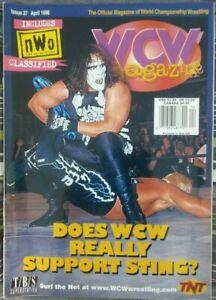 WCW Magazine Issue 37 (April 1998) Sting/Hulk Hogan on the cover