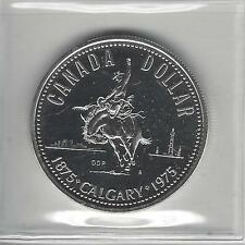 1975 S$1 Calgary (Special Strike) Canada Dollar , Silver