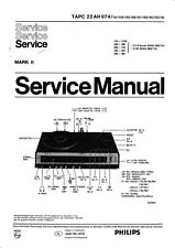 Service Manual-Anleitung für Philips 22 AH 974
