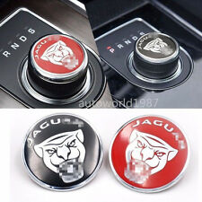Gear Shift Knob Ring Cover Decoration Sticker for Jaguar F-Pace XF XJ XE
