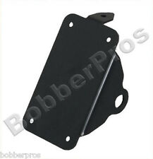 "License Plate Bracket Harley Sportster With 3/4"" Rear Axle Left Vertical Black"