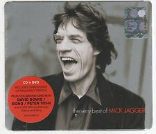 MICK JAGGER ROLLING STONES THE TRÈS BEST OF CD + DVD SCELLÉ
