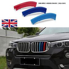 BMW M SPORT KIDNEY 3D GRILL 3 COLOUR COVER STRIP 5 SERIES - E60 E61 M5 2004-2010