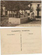 Postal. Puebla de Lillo. (León). Nº 9. Fuente Bajovilla.