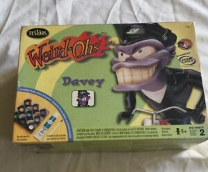 Testors Model Kit 745 Weird-Ohs Davey Complete In Opened Box.