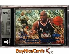 1997-98 Charles Barkley Fleer Showcase Legacy Collection Row /100 BGS 9
