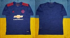 ● FC MANCHESTER UNITED 2016/2017 AWAY SHIRT ADIDAS SIZE MEN ADULT L ●