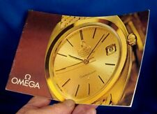 Rare Vintage OMEGA Color Brochure 18k Gold Models JEWELERS 1962 Models