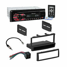 Pioneer Car Radio Stereo + Single Din Dash Kit Harness for 2000-2004 Ford Focus