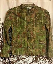 STO brand green jacket women's size medium