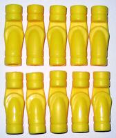 YELLOW SCOOP BUCKET Replacement Piece Wooden Jumbo Set Plastic Tinker Toys Part