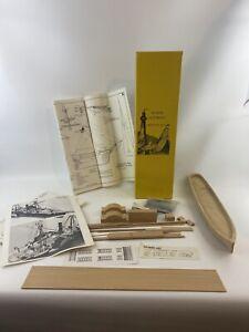 Model Shipways Harriet Lane 1857 Wooden Ship Model Steam Paddle Cutter 1857