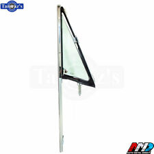 68-72 C/K Pickup Truck DOOR VENT Wing Window TINTED Glass Chrome Frame AMD RH