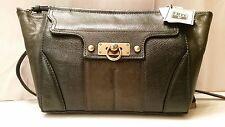 Frye Dana Green Leather Clutch Bag Purse RETAIL $368 DB822 34DB822-GRN NWT