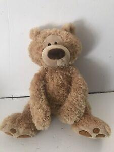 "GUND TEDDY BEAR FLOPPY HUGGABLE PHILBIN 4037978 18"""