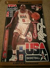 "MICHAEL JORDAN & 7 ""ExTrAs"" LIFESIZE Fathead Dream Team USA Chicago Bulls 6FT+"