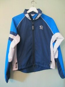 PEARL IZUMI Lightweight Jacket cycling REFLECTIVE size XS vented zip pockets EUC