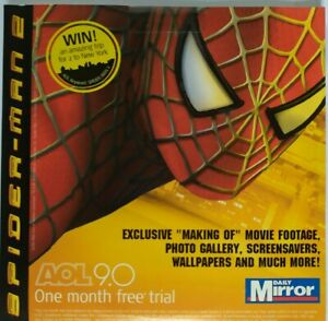 SPIDER-MAN 2 - PROMO PC CD-ROM (2004) MAKING OF MOVIE FOOTAGE, PHOTO GALLERY ETC