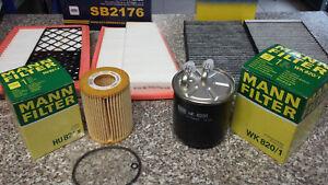 MANN & SCT Germany Filter Service Kit Mercedes W164 GL ML 280CDI 320CDI 350CDI
