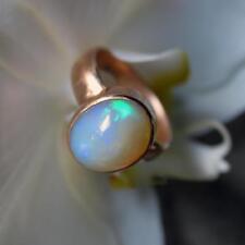 1 äthiopien opal  ring, 925 silber, grösse 57, 11 micron 750 gold vergoldet