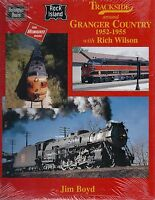 Trackside around GRANGER COUNTRY, 1952-1955: IA, IL, WI, KS, NE -- (NEW BOOK)