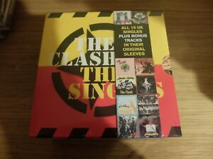 THE CLASH - THE SINGLES BOX SET (19 CD Singles 2006) NUOVO SIGILLATO