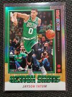 "Jayson Tatum ""Action Shots"" 2019-20 Panini NBA Hoops NBA Card"