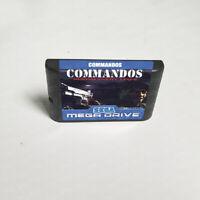 Commandos: Behind Enemy Lines (1998) 16 Bit For Sega Genesis / Mega Drive System