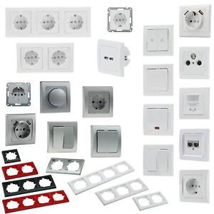 DELPHI Komponenten, Elektro-Installationsserie Schalterserie Schalterprogramm UP