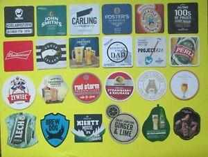 Coaster : Beer - Whisky - Vodka - Rum : 33 pieces - MIX