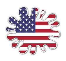 USA SPLAT VINYL DECAL CAR VAN LAPTOP STICKER