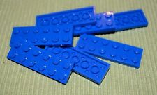 7 ~ Blue 2x6 Standard Plate Bricks ~ New Lego Parts ~