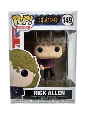 Funko Pop Rick Allen 149 Def Leppard Rocks English Musician Vinyl Figure New