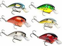 """Strike King Kvd Square Bill 2.5"""" (6.35 Cm) Silent Crankbaits Bass Fishing Lure"""