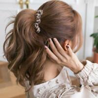 Korean Wide Leopard Print Hair Accessories Banana Clips Crab Clip Hair Claw
