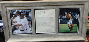 The Only Known Thurman Munson Rookie Era Signed Handwritten Letter PSA DNA Mint