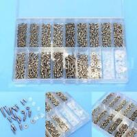 1000 x Tiny Screws Nut + Screwdriver Watch Eyeglass Glasses Repair Tool-Set s