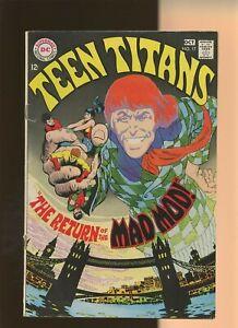 Teen Titans 17 FN 5.5 * 1 Book Lot * Mad Mod! Bob Haney & Nick Cardy! DC 1968!
