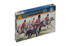 Italeri 6001 1/72 Scale MIlitary Model Kit Napoleonic Wars British Heavy Cavalry