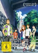 ANOHANA-DIE BLUME,DIE WIR AN JENEM TAG SAHEN- THE MOVIE   DVD NEU