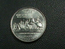 UNITED STATES    25  Cents    2000  -  P    BRILLIANT  UNCIRCULATED  ,  VIRGINIA