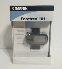 Garmin ForeTrex 101 Waterproof Handheld GPS Receiver w/ Wristband Excellent