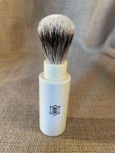 Super Badger Travel Shaving Brush Handmade in England New Old Stock