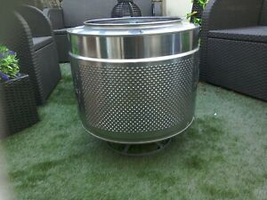 Fire pit, BBQ,VW Camper,Camping holiday, patio heater, washing machine drum