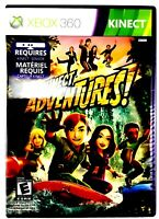 Microsoft Xbox 360 Kinect Adventures Video Game 2010 Rated E NTSC 1 - 2 Players