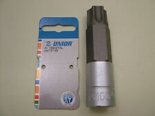 "Torx star bit socket 1/2"" drive T100 extra long 103mm overall, European made"